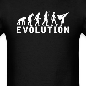 Kung Fu Evolution T-Shirt T-Shirts - Men's T-Shirt