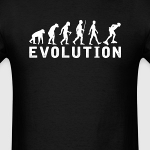 Male Roller Skates Evolution T-Shirt T-Shirts - Men's T-Shirt