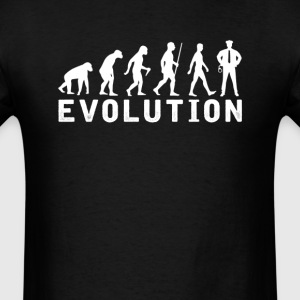 Policeman Evolution T-Shirt T-Shirts - Men's T-Shirt