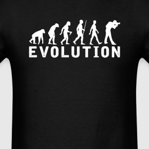 Photography Evolution T-Shirt T-Shirts - Men's T-Shirt