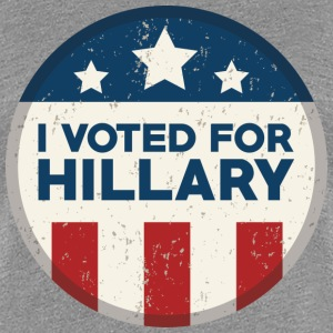 I voted for Hillary - Women's Premium T-Shirt