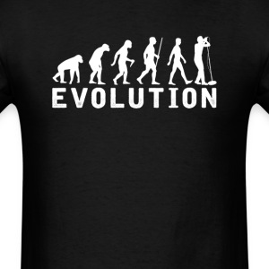 Singing Evolution T-Shirt T-Shirts - Men's T-Shirt