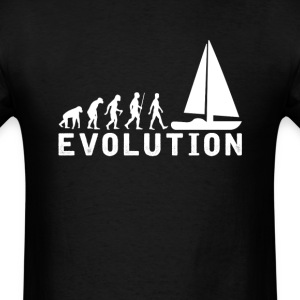 Sailing Evolution T-Shirt T-Shirts - Men's T-Shirt