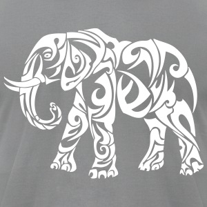 elephant T-Shirts - Men's T-Shirt by American Apparel