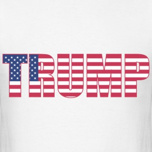 Trump - US Flag - Men's T-Shirt