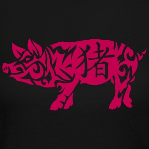 pig chinese horoscope sign 2 Long Sleeve Shirts - Women's Long Sleeve Jersey T-Shirt