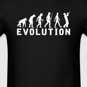 Trumpet Evolution T-Shirt T-Shirts - Men's T-Shirt