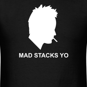 Jesse Pinkman Aaron Paul Mad Stacks Yo Breaking Ba - Men's T-Shirt