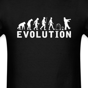 Zombie Evolution T-Shirt T-Shirts - Men's T-Shirt