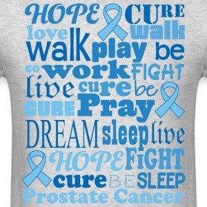 Prostate Cancer Awareness Support T-Shirts - Men's T-Shirt