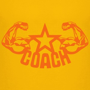 coach muscular arm 1 Kids' Shirts - Kids' Premium T-Shirt