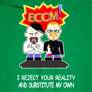 MYTHBUSTERS CARTOON - Men's Hoodie