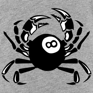 crab billiards club logo Kids' Shirts - Kids' Premium T-Shirt