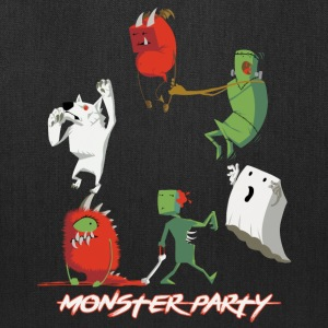 Halloween Cute Monster Party - Tote Bag