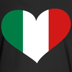 Italy Heart; Love Italy Long Sleeve Shirts - Men's Long Sleeve T-Shirt