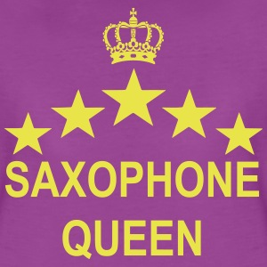 Saxophone Queen  - Women's Premium T-Shirt