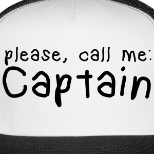 please, call me captain Sportswear - Trucker Cap