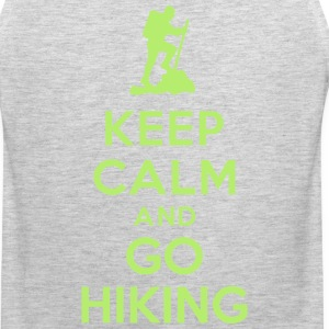 Keep calm go hiking Sportswear - Men's Premium Tank