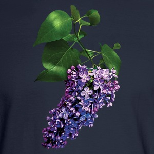 Graceful Purple Lilacs Long Sleeve Shirts - Men's Long Sleeve T-Shirt