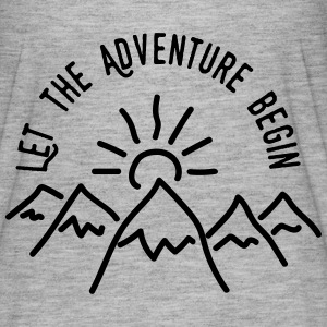 AD Let the Adventure Begin T-Shirts - Women's Flowy T-Shirt