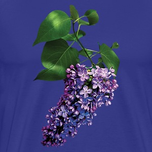 Graceful Purple Lilacs T-Shirts - Men's Premium T-Shirt