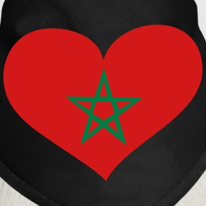 Morocco Heart; Love Morocco Other - Dog Bandana