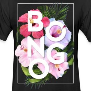 Bongo Flower T-Shirts - Fitted Cotton/Poly T-Shirt by Next Level