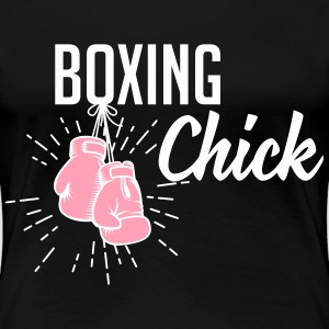 boxing chick T-Shirts - Women's Premium T-Shirt