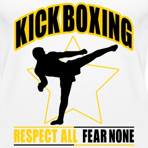 kickboxing - fear none Tanks - Women's Premium Tank Top