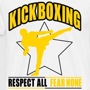 kickboxing - fear none T-Shirts - Men's Premium T-Shirt