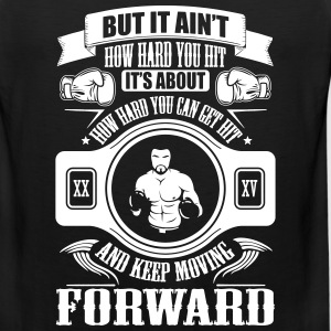boxing keep movin forward Sportswear - Men's Premium Tank