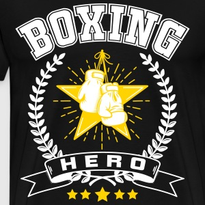 Boxing hero T-Shirts - Men's Premium T-Shirt