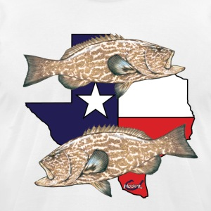 Texas Grouper Hookat 2 T-Shirts - Men's T-Shirt by American Apparel