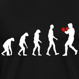 evolution boxing T-Shirts - Men's Premium T-Shirt