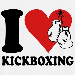 I love kickboxing T-Shirts - Men's Premium T-Shirt