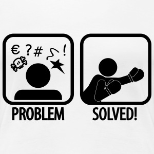 problem solved boxing T-Shirts - Women's Premium T-Shirt