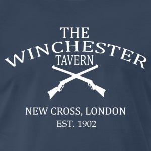 The Winchester Tavern - Shawn Of The Dead T-Shirts - Men's Premium T-Shirt