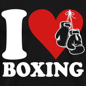 I love boxing T-Shirts - Men's Premium T-Shirt