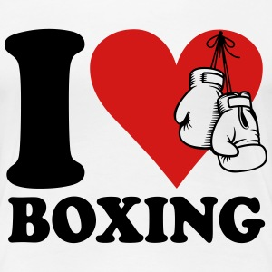 I love boxing T-Shirts - Women's Premium T-Shirt