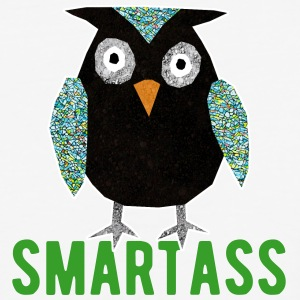 smartass - Baseball T-Shirt