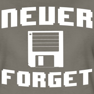 Never forget floppy disk T-Shirts - Women's Premium T-Shirt