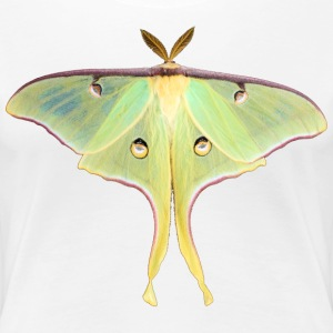 GREEN LUNA MOTH - Women's Premium T-Shirt