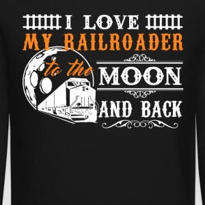 I Love My Railroader - Crewneck Sweatshirt
