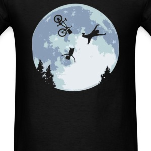 FALLING BICYCLE  - Men's T-Shirt