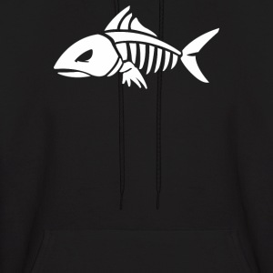 Fish Skeleton - Men's Hoodie