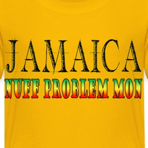 Jamaica - Nuff problem mon - Toddler Premium T-Shirt