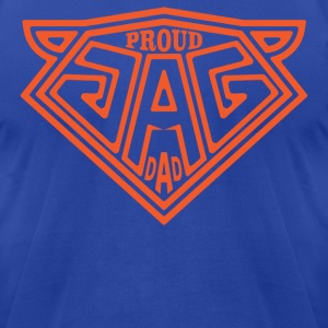 Proud JAG Dad T-Shirts - Men's T-Shirt by American Apparel