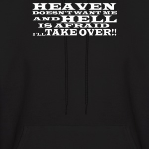Hell and Heaven - Men's Hoodie