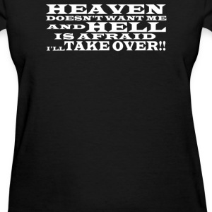 Hell and Heaven - Women's T-Shirt