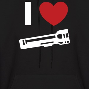 I Love Alan Wake Video Game Flashlight - Men's Hoodie